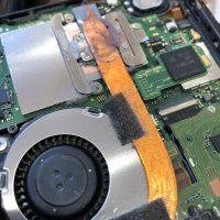 スイッチ冷却ファン修理
